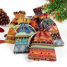 10 шт упаковка для ювелирных изделий свадебные подарочные пакеты