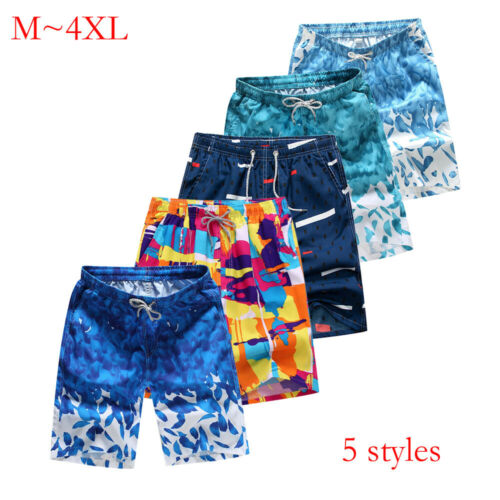 Summer Men's Beach Casual Shorts Breathable And Quick-drying Surf Beach Pants UK