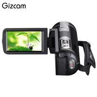 Gizcamナイトビジョン1080 pのhdデジタルカメラビデオレコーダービデオカメラ3.0