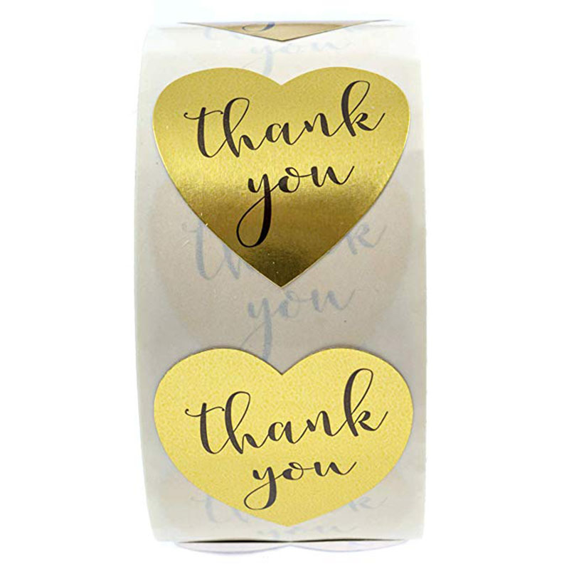 foil Candy Bag Sticker Gift Box Tag Gifts Package Label Christmas Decoration