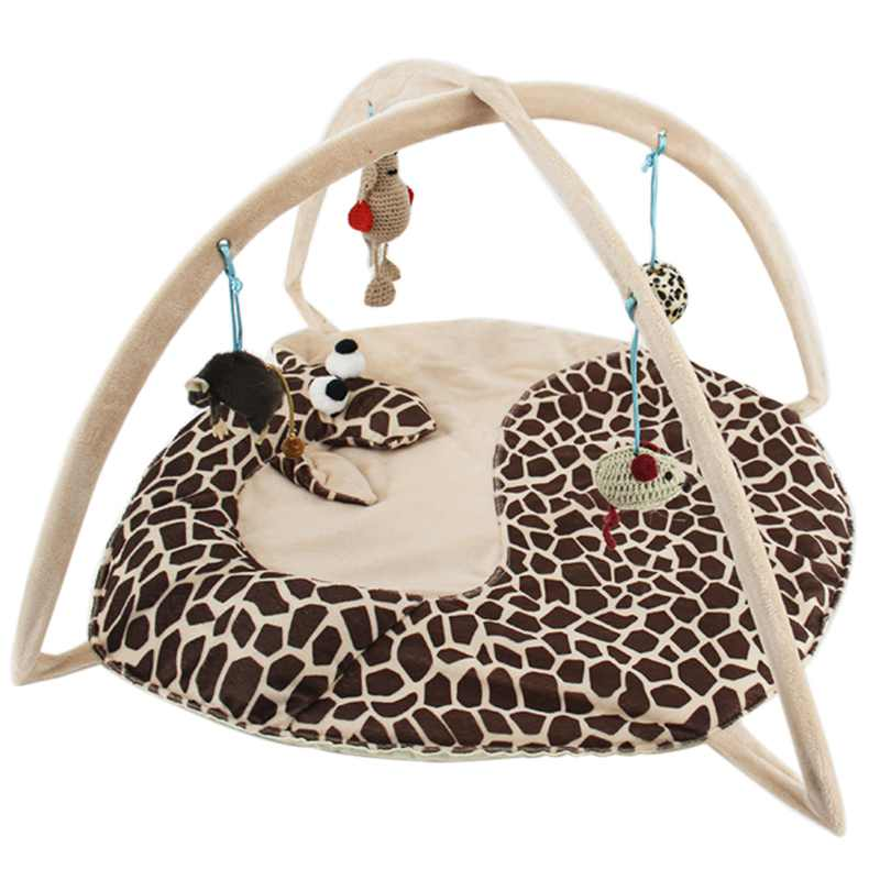 Bed Toys Cat Bed Pad Blanket House Cat Trapping Tortorise Coccinella Septempet Cat Bed Toys Mobile Activity Games ...