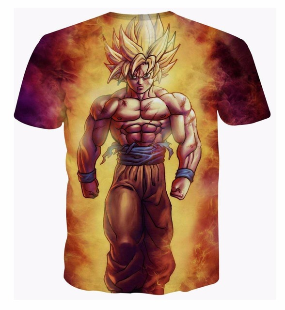 Dragon Ball Z Goku 3d T shirts
