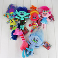 Movie Series Trolls Plush Doll 6Style Stuffed Toys Soft Stuffed Plush Doll Christmas Gifts For Kids 1pc
