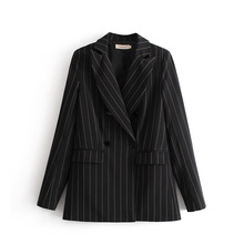 Women stripe suit Blazers And Jackets 2018 New Spring autumn