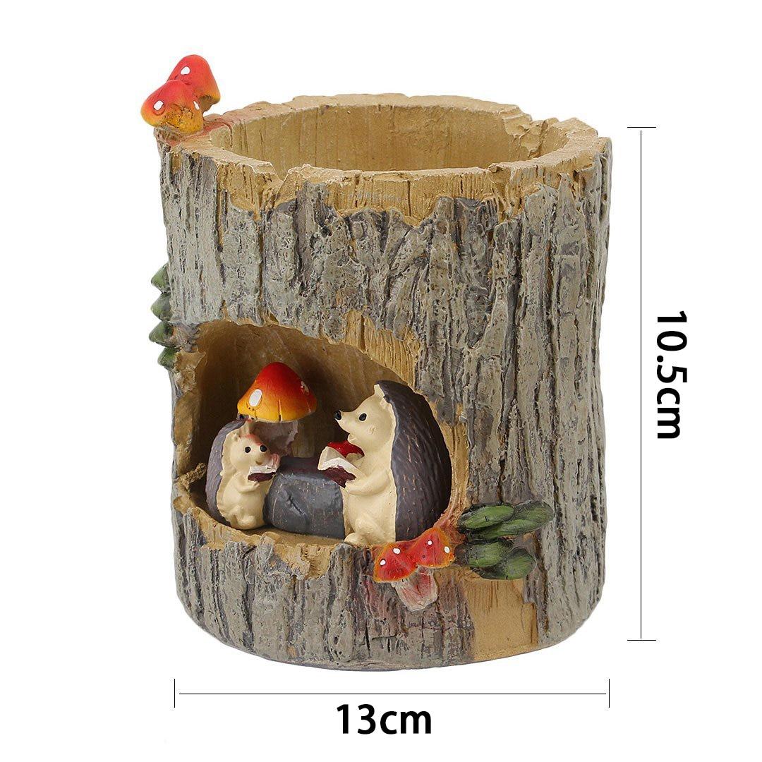 NOCM-творческие растения горшки кисть горшки для цветов для цветок очиток сочные растения стол Сад номер декора горшок, сладкий Ежик