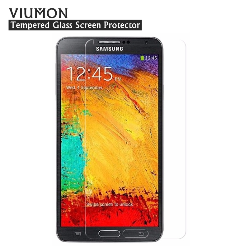 For <font><b>Samsung</b></font> Galaxy Note <font><b>3</b></font> Neo / Lite SM-N7505 / Note <font><b>3</b></font> Front Protective Tempered <font><b>Glass</b></font> Film SM-N900 N9000 N9005 Screen Protector image