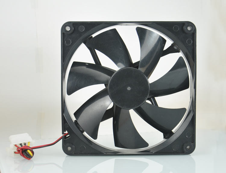 NANILUO high quality Best silent quiet <font><b>140mm</b></font> pc case cooling <font><b>fans</b></font> 14cm DC <font><b>12V</b></font> 4D plug computer coolers 14025 <font><b>fan</b></font> 2Pin image