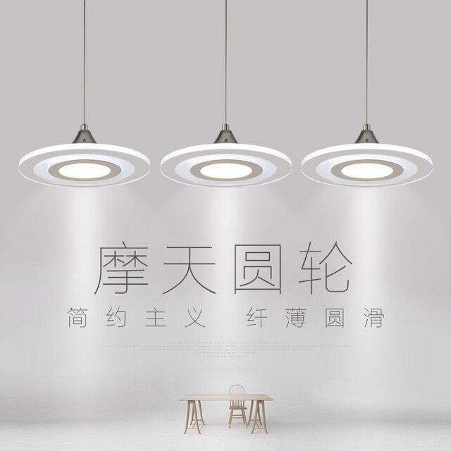 Modern simple restaurant chandelier three dining room lighting ...