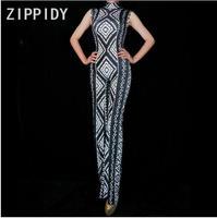 Women Fashion Summer Rompers Black Dyeing Bodysuit Sleeveless Leggings Spandex Stretch Jumpsuit Party Dance Wear