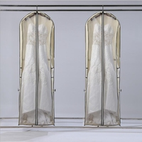 1.8 متر الملابس منظمة ملابس التخزين حقيبة غطاء حامي القضية ل فستان الزفاف ثوب ملابس تنظيم أكياس تخزين المنزل