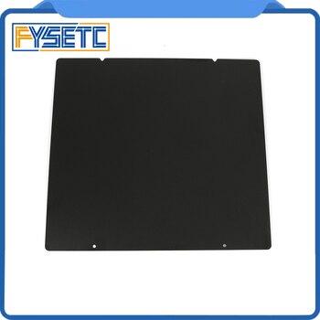 Prusa I3 MK3 MK52 черный двухсторонний текстурированный PEI пружинный стальной лист с порошковым покрытием PEI Монтажная пластина для Prusa i3 MK2.5S mk3 MK3S
