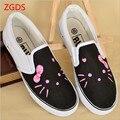 Zgds tamanho 25-40 novos 2017 das crianças shoes meninos meninas dos desenhos animados de lazer running shoes shoes dos homens para das mulheres shoes