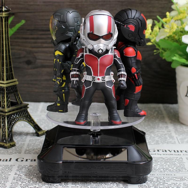 Avenger Alliance Marvel Antman Sunlight and Led light Toys US Captain 3 Home Car Decoration T45