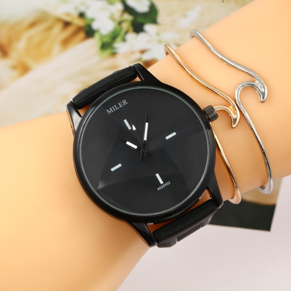 Hesiod Casual Simple Silicone Watch Quartz Watch Lovers Wristwatch Black White Rose Color Watch Women Relogio Feminino