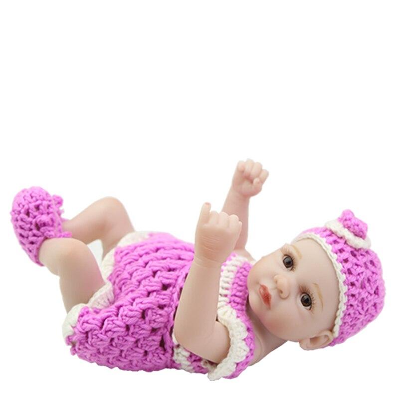 ᗖAfeitada cabeza 11 pulgadas bebé Reborn Mini 11 pulgadas Lifelike ...