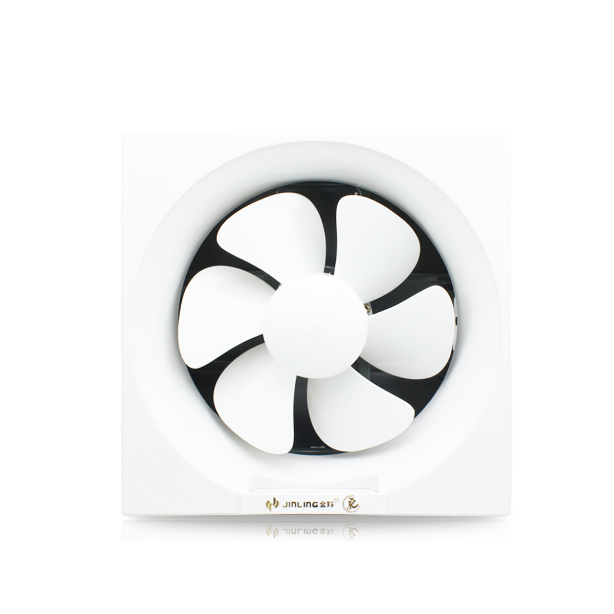 Wall exhaust fan for 8 inch /10 inch /12 inch louver fan fan design mute iron bottom surface
