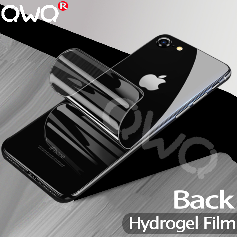 Hydrogel-Film Screen-Protector iPhone 6s Curved-Back 7-Plus Full 20D for 8 Transparent