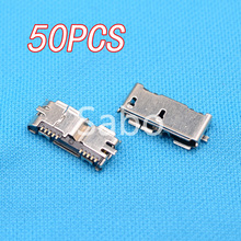 High Quality 50pcs HI-Speed Micro USB 3.0 Female 10Pin SMD SMT Socket PCB Soldering Connectors(China (Mainland))
