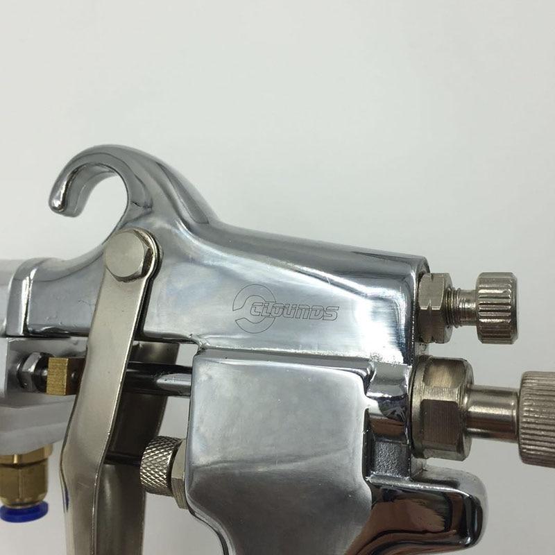 SAT1182 Pistola de pulverización de doble boquilla Alimentación de - Herramientas eléctricas - foto 5