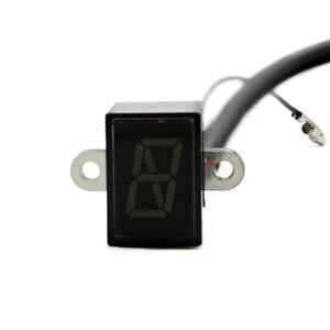 Image 5 - Nuoxintr 6 Speed Black Universal Motorcycle Digital Display Led Motocross Off road Moto Light Neutral Gear Indicator Monitor