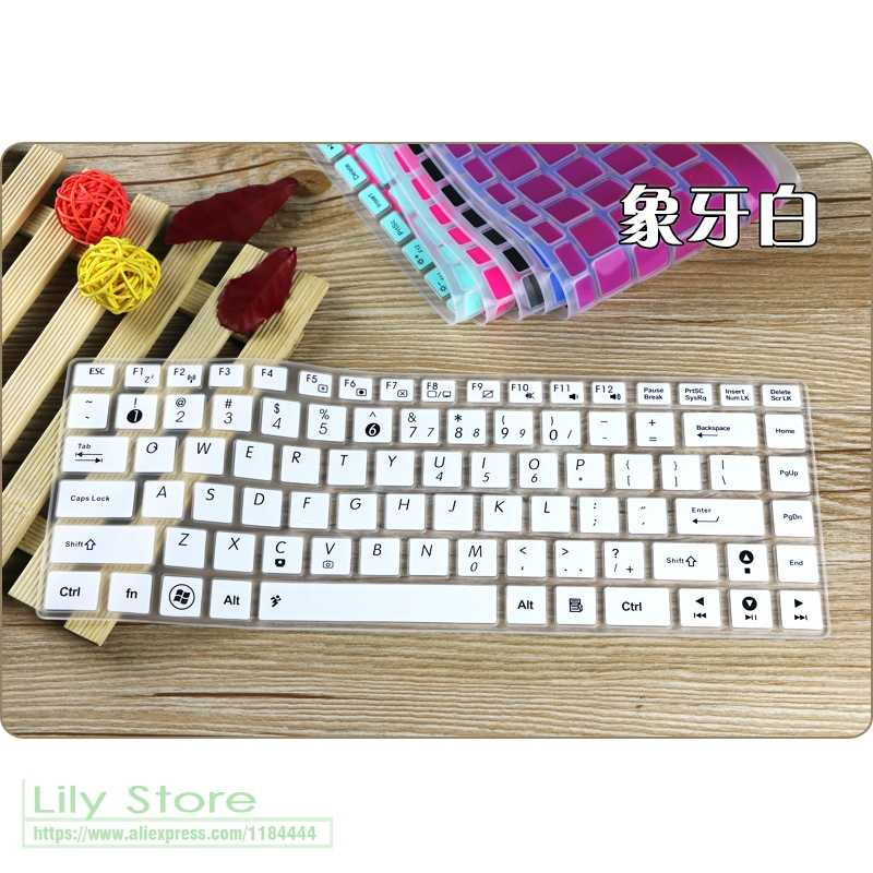 14'' Silicone Notebook keyboard cover skin Protector For ASUS VivoBook Max  X441NA X441U X441N X441sa X441UV X441UA X441SC X441