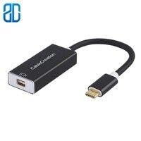 USB C ミニ DisplayPort 4K @ 60Hz タイプ C ミニ DP アダプタ (ないサンダーボルトアダプタ) macbook Pro の 2017/2018 Chromebook ピクセル