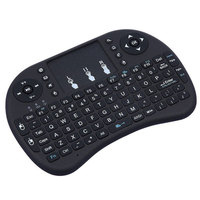 i8 English Version i8+ 2.4GHz Wireless Keyboard Air Mouse Teclado Inalambrico Touchpad Handheld for Android TV BOX Mini PC