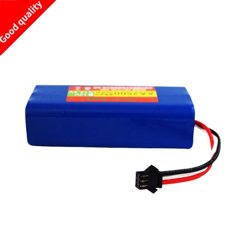 лучшая цена replacement Ni-MH 2500 mAh Battery for Seebest D730 Seebest D720 robot Vacuum Cleaner Parts