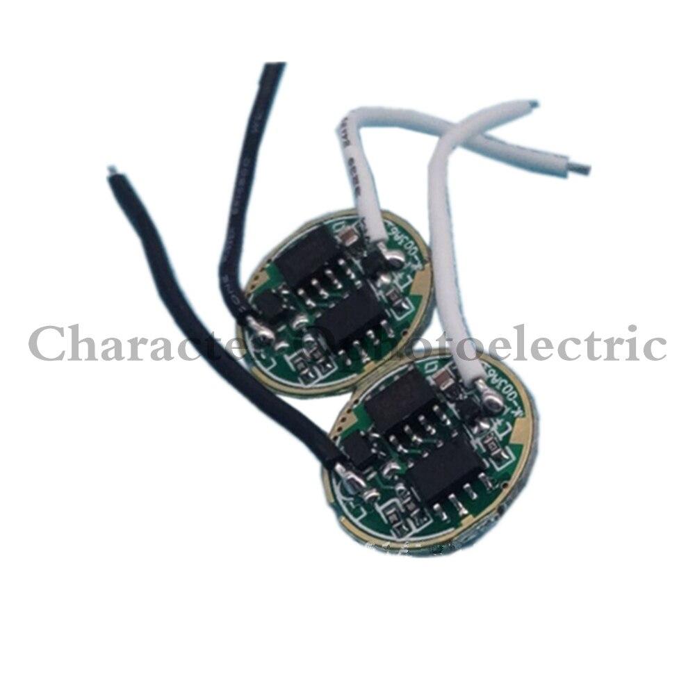 1 ADET DC3.7V 5 Modları LED el feneri Sürücü CREE XML-T6 U2/XML2 10 W led ışık Lamba/Meşale