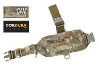 TMC Mini Tactical Modular Drop Leg MOLLE Panel Genuine Multicam Thigh Rig(SKU050952)