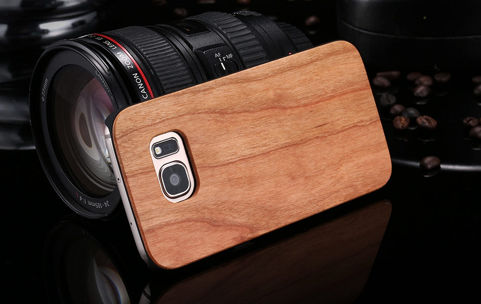 For Samsung Galaxy S8 Plus Real Wooden Case For Samsung S8 Galaxy S7 S6 Edge Back Cover (14)