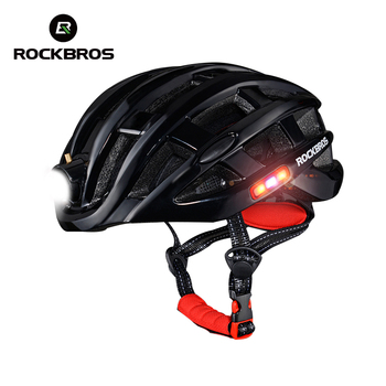 ROCKBROS Light Bicycle Helmet Ultralight Bike Helmet Intergrally Waterproof Camping Cycling Sports Helmet Safety Outdoor Men