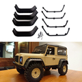1:10 RC Crawler Black Fender Flares for Axial SCX10 RC4WD Gelande II D90 D110 Body Shell Parts