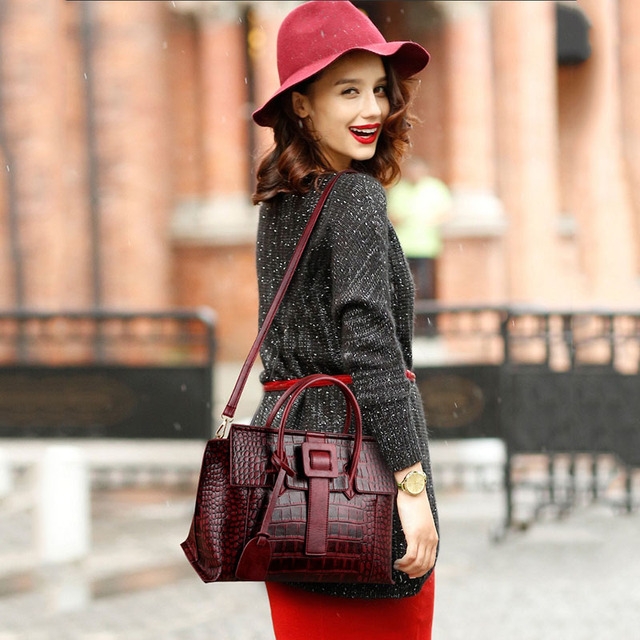 Women messenger bags leather handbags women's handbags big bag leather for women shoulder 2017 designer handbags high quality