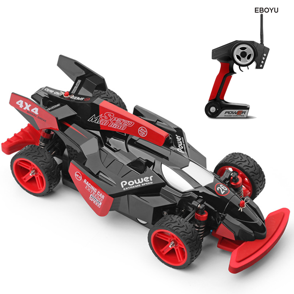 купить WLtoys 184012 Super Racer 2.4GHz 4WD 1/18 F1 Racing RC Car 45KM/H Brushed High-speed Remote Control Drift Car RTR по цене 6330.57 рублей