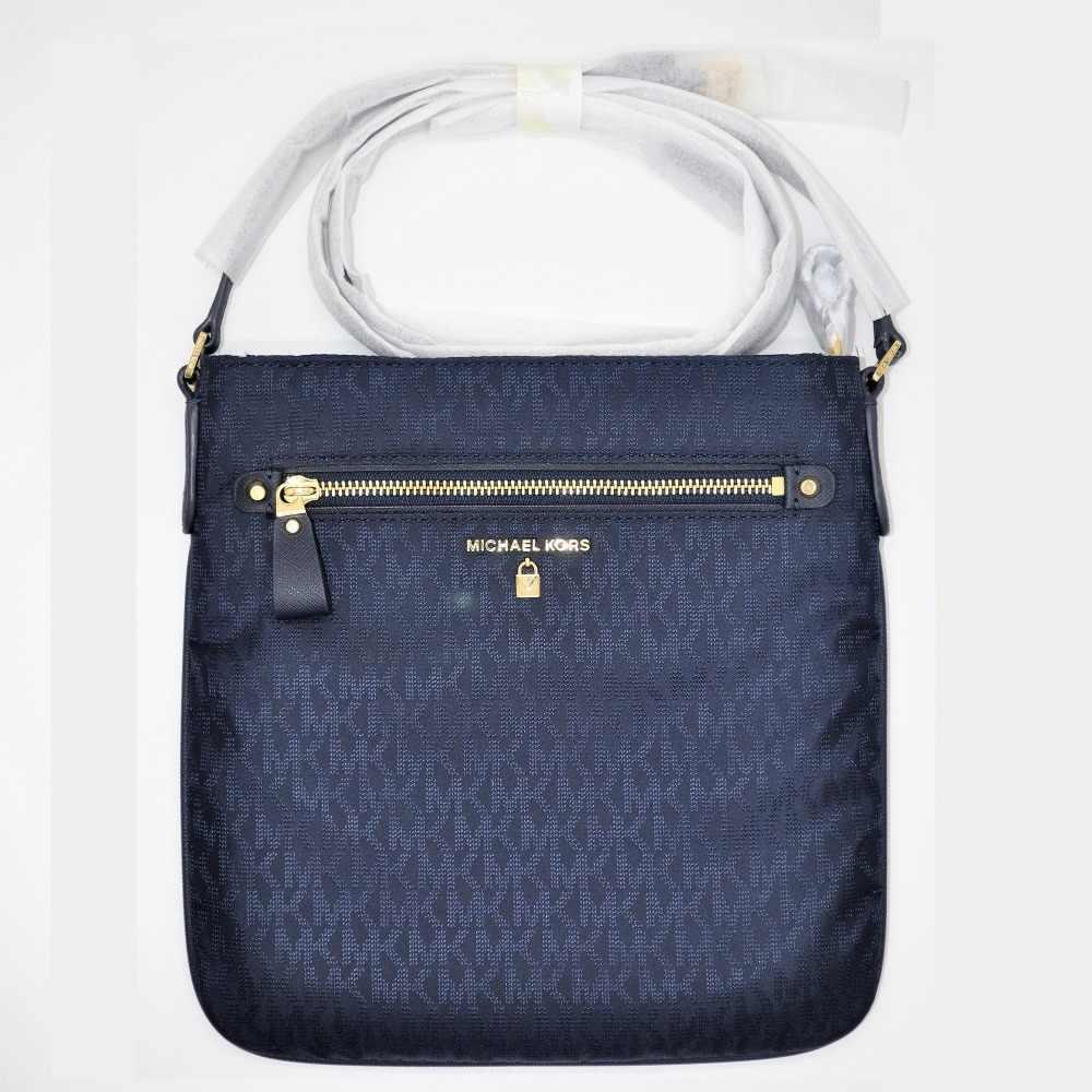 42867ba37ea2 ... Michael Kors Kelsey Signature Crossbody Luxury Handbags For Women Bags  Designer by MK ...