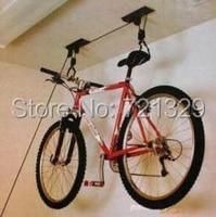 Spedizione gratuita bicicletta wall hanging rack, bicicletta gancio a muro, Bicicletta display di stand rack, Soffitto Montato Attaccatura Della Bike Lift