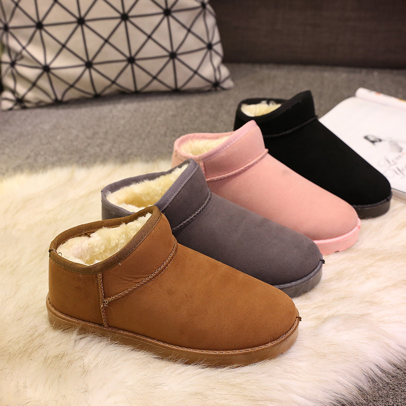 купить Boots women shoes autumn winter rain snow ankle boots women female chaussures casual rubber women shoes онлайн