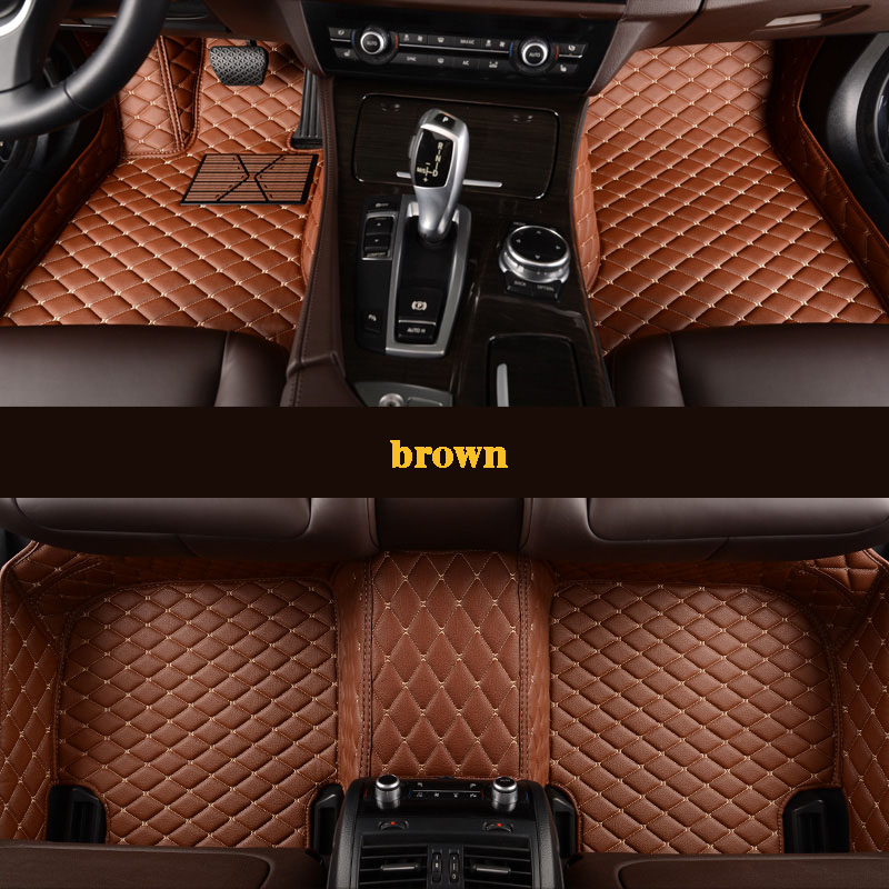 kalaisike Custom car floor mats for Lincoln all models Navigator MKZ MKS MKC MKX MKT car accessories auto styling new 14smd lamp arrow panel car rear view mirror turn signal light for lincoln aviator ls mkc mks mkt mkz navigator town car