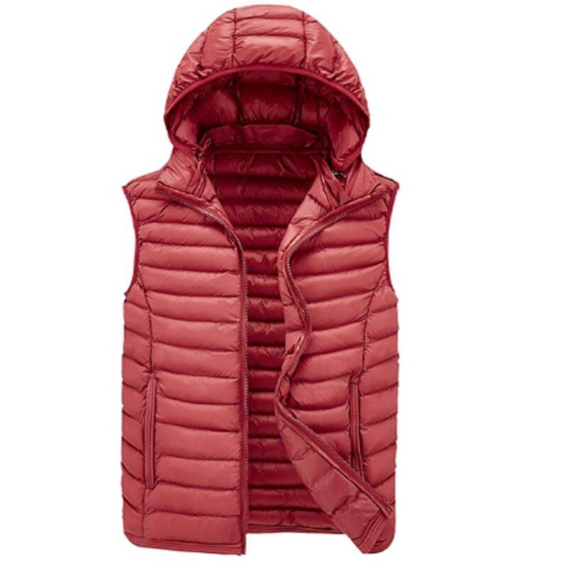 2018 hombres abajo algodón chaleco Otoño Invierno engrosamiento coreano chaqueta chaleco caliente de los hombres y de las mujeres