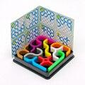 Zcube IQ Enlace Colorido 3D Rompecabezas de Inteligencia Juguetes Educativos para Niños de Los Niños