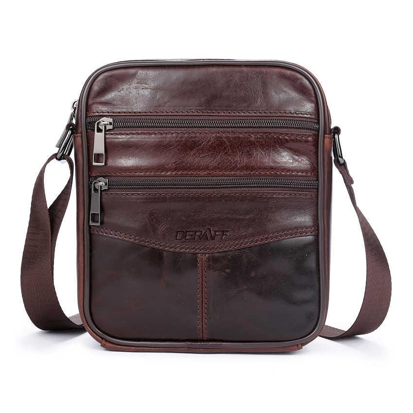 a8f42e3db666 ... OGRAFF известный бренд сумка мужская через плечо маленькая сумочка  кожаная сумка мужская натуральная кожа брендовые мужские ...