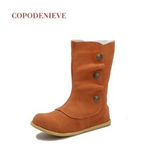 Image 4 - COPODENIEVE obuwie dziecięce wiosna jesień maluch chłopcy buty wsuwane dzieci wsuwane skórzane dziecięce obuwie na co dzień dziewczynka