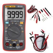 ANENG AN8008 Echteffektiv Digital-Multimeter 9999 zählt Platz Welle Hintergrundbeleuchtung AC DC Spannung Amperemeter Strom Ohm Auto/manuelle