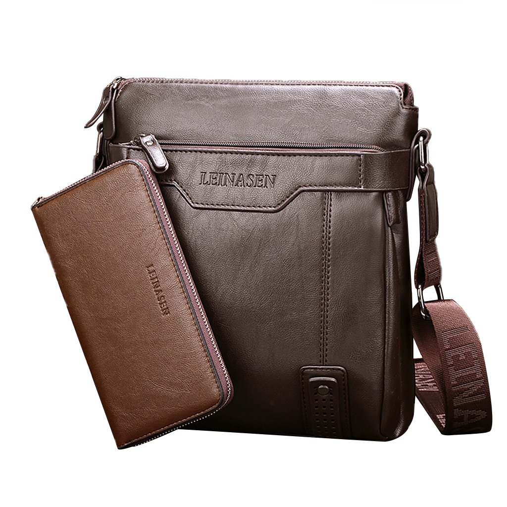 Briefcase Mens Casual Crossbody Bags Men Handbag Top Quality Male Shoulder Bags