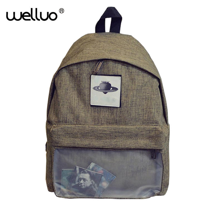 Cool Japan Preppy Style Canvas Backpack Fashion Cute School Backpacks For Girls Women Laptop Backpack Schoolbag Girls Boy XA751B 2016 korean fashion backpack schoolbag preppy style school rucksacks for girls teenager cool contrast color bag