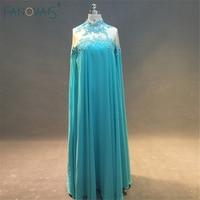 robe de soiree sirene Real Design Formal Dress Turkish Islamic Clothing Arabic Evening Dress Long Sleeve caftan dubai ASAE30