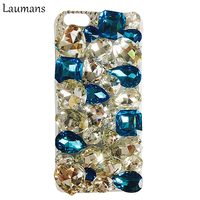 Plastic Protective Cases For Iphone 5s Handmade Luxury Bling Crystal Rhinestone Case Protective Skin Cover For