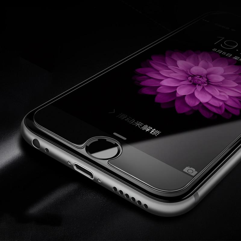 H & lOO 9H 2.5D härdat glas skärmskydd för iPhone 11pro MAX XR XS - Reservdelar och tillbehör för mobiltelefoner - Foto 4