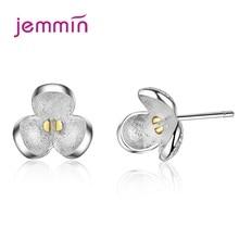 High Quality Women Fashion Stud Earrings Wedding Party Jewelry Flower Cubic Zircon Earrings Brincos Bithday Gift недорого